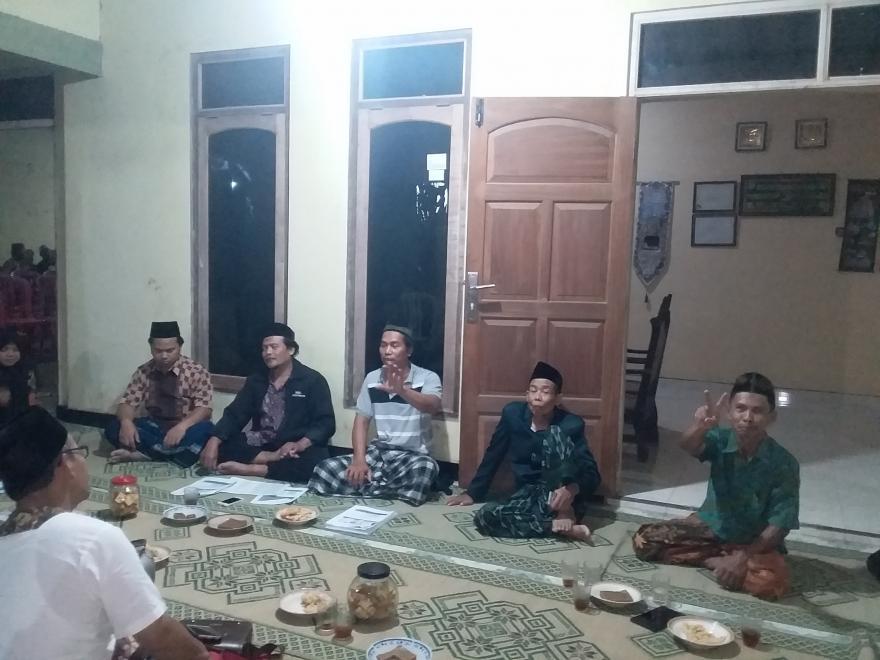 Image : Persiapan Musdes Validasi BDT Desa Tanjung Tahun 2019